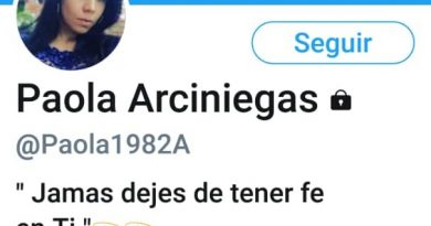 Paola Arciniegas lavado de dinero